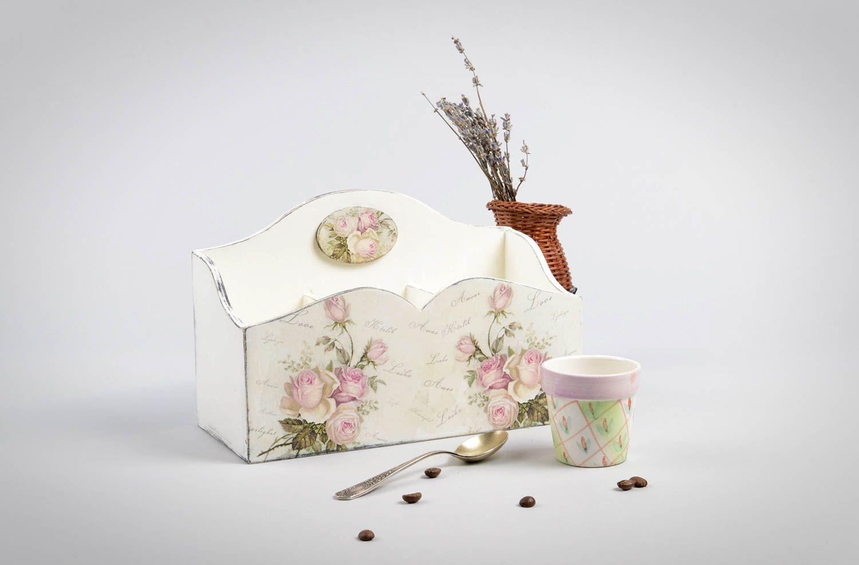 MADEHEART > Aufbewahrungsbox Küche handmade Küchen Deko aus Holz ...