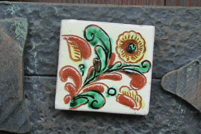 Homemade ceramic fridge magnet photo 1