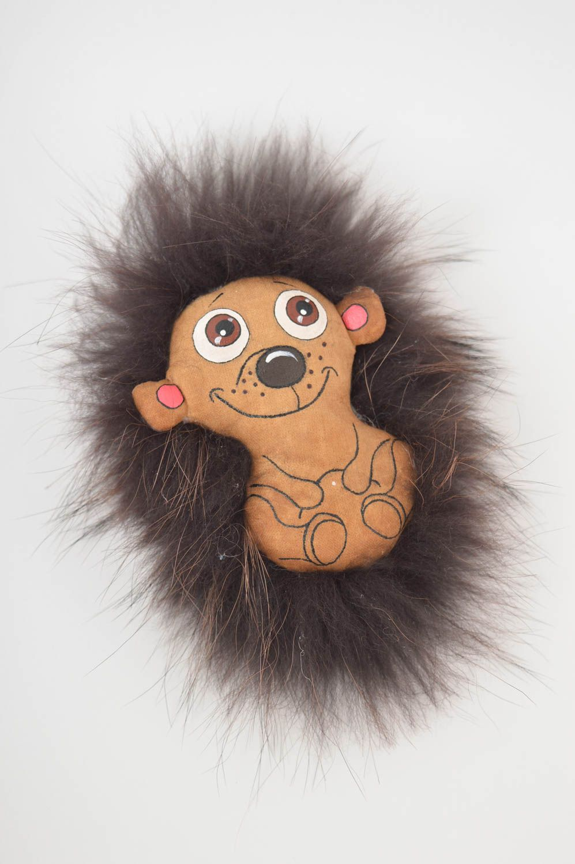 Beautiful soft toy stylish unusual accessories designer handmade hedgehog photo 3