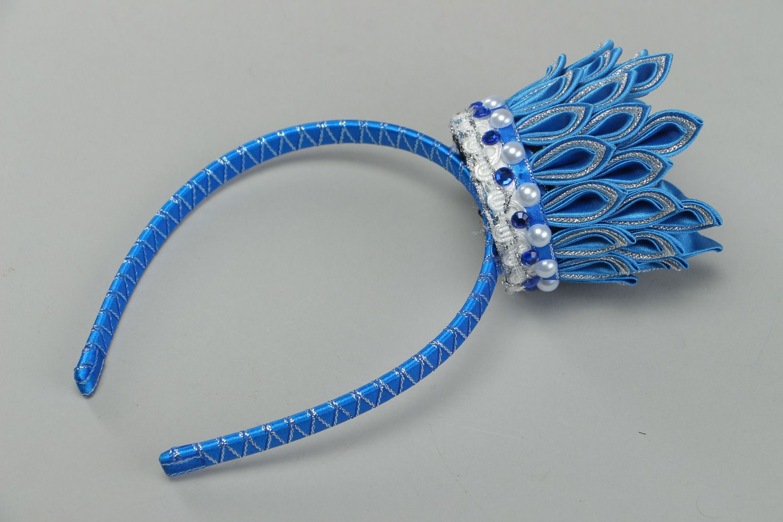 Плетение лентой обручи заколки резинки