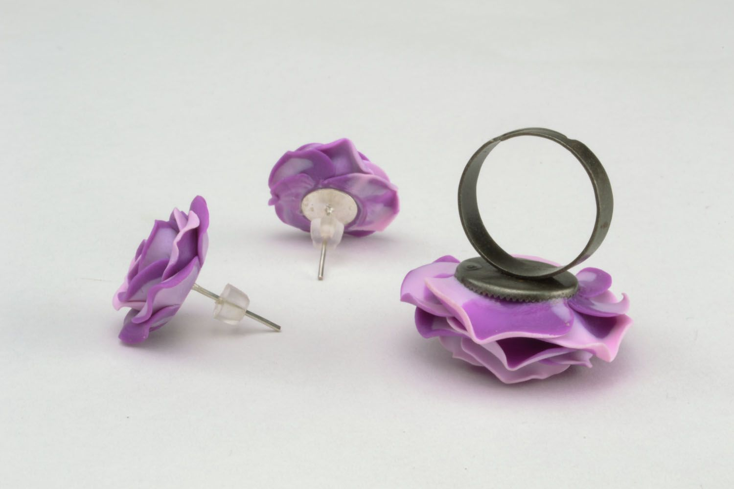 Design ring and earrings photo 5