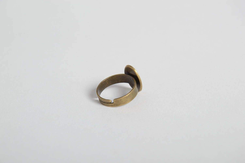Handmade ring gift ideas epoxy resin ring designer accessory unusual jewelry photo 4