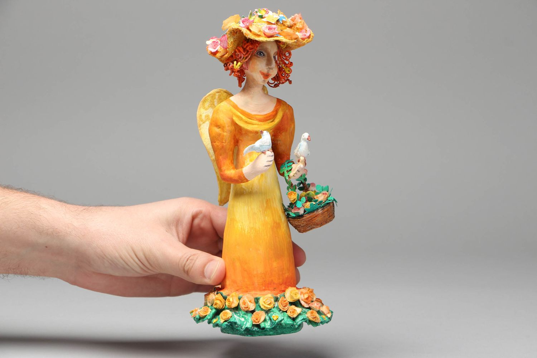 nesting dolls and souvenir dolls Paper mache figurine of fairy - MADEheart.com