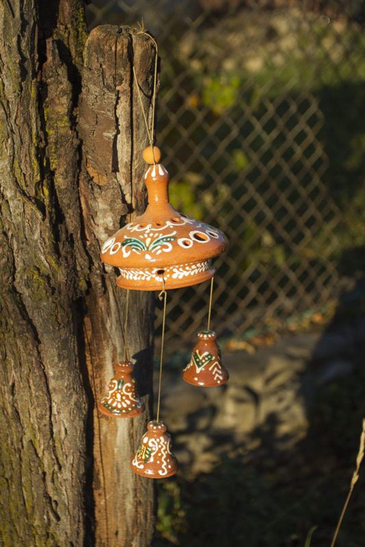 Ceramic pendent bells photo 3