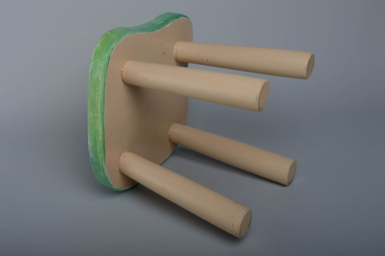 hangers and Coat Racks Children's wooden stool - MADEheart.com