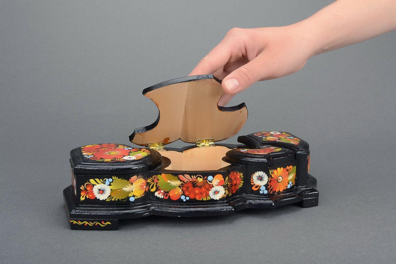 Fotos de cajas de madera pintadas a mano 44