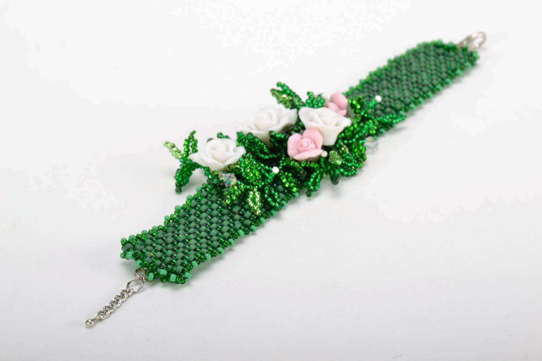Bracelet made of Czech beads photo 2