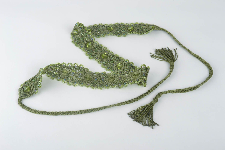 Макраме-женский ремень бронза литье краснодар