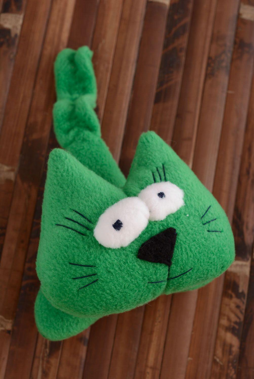 Fleece soft toy Kitten photo 5