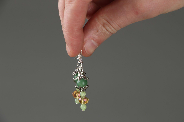 Homemade earrings Apple Blossom  photo 3