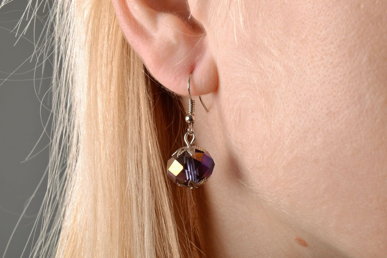 Earrings made of beads photo 5
