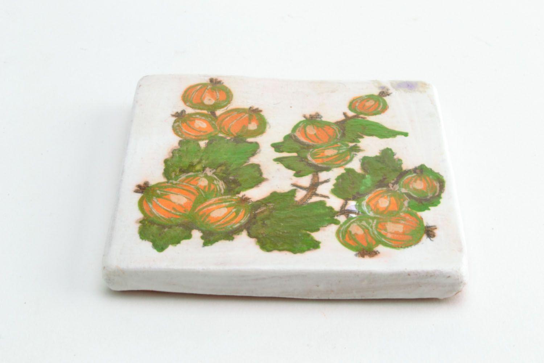 Ceramic magnet for fridge Goosebumps photo 4