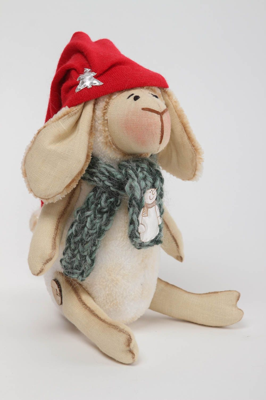 Handmade designer plush toy stylish interior decoration cute textile toy photo 2
