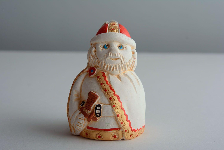 Homemade ceramic bell Warrior photo 3
