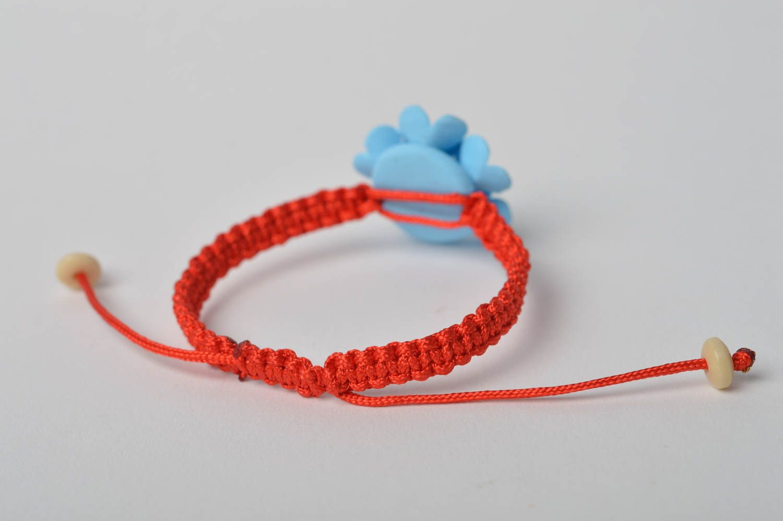 Handmade bracelet designer bracelet clay bracelet unusual jewelry gift ideas photo 5