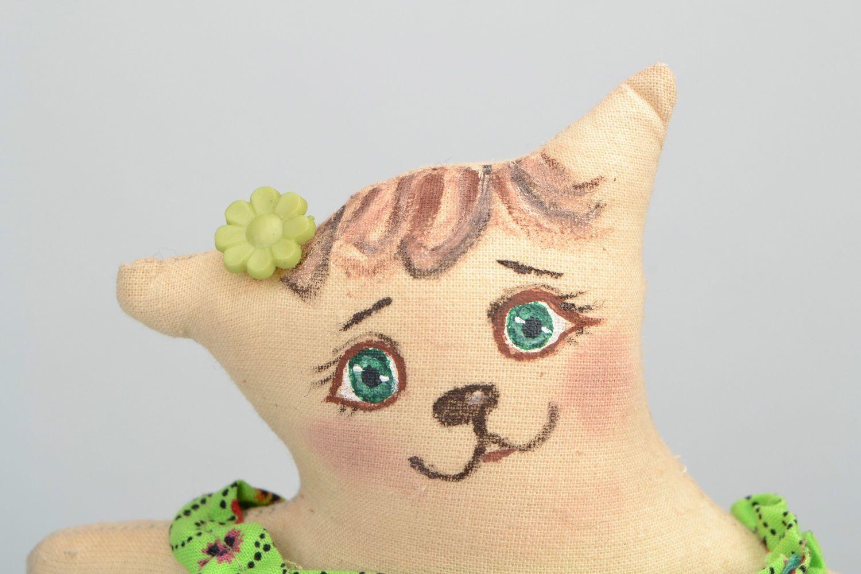 Handmade toy Cat photo 4
