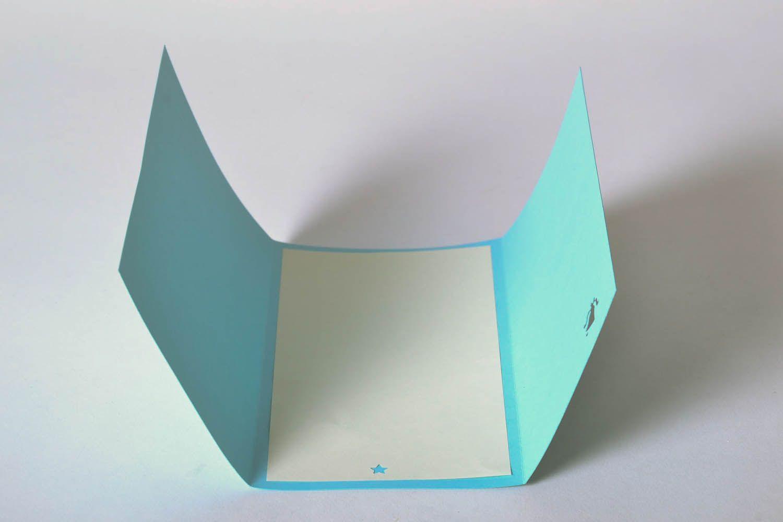 Blue greeting card photo 3
