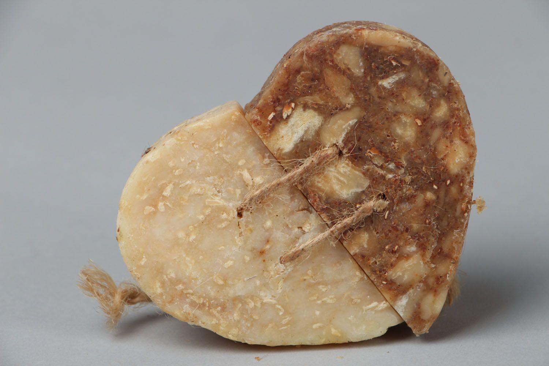 Heart-shaped soap photo 3
