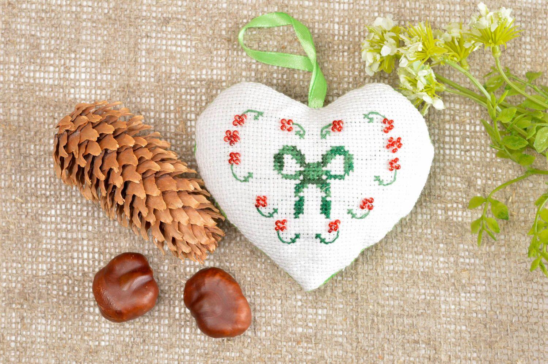 Handmade aromatized hanging unusual decorative pincushion designer soft toy  photo 1