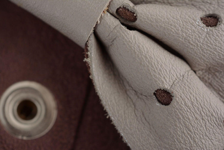 Женский браслет из кожи фото 5