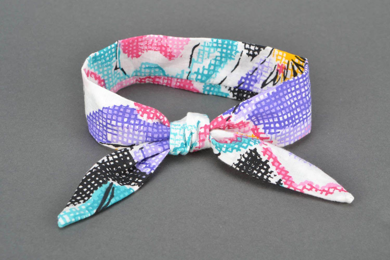 Textile headband photo 4