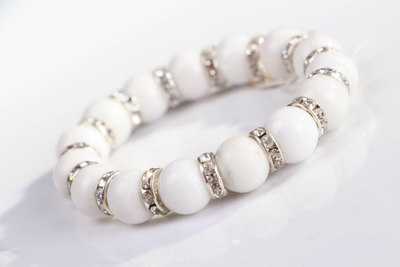 Bracelet with elastic band photo 2