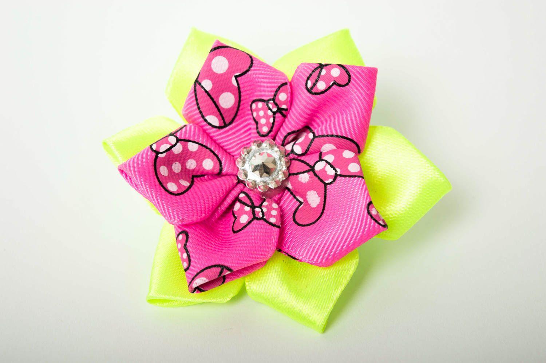 Необычный подарок ручной работы аксессуар для волос яркая резинка для волос фото 2
