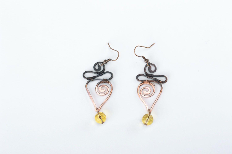 Dangle earrings Pike photo 1