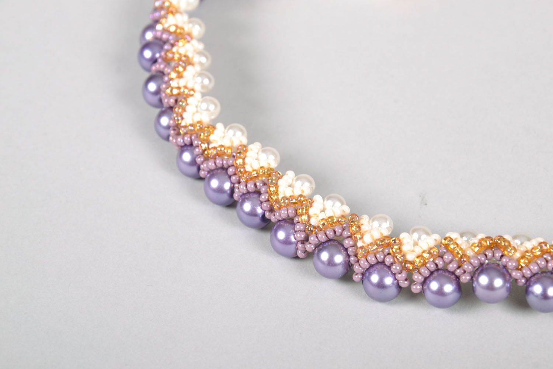 Homemade necklace photo 4