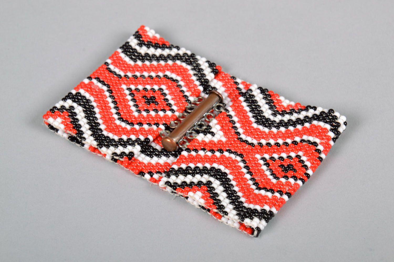 Модный браслет из бисера  фото 2
