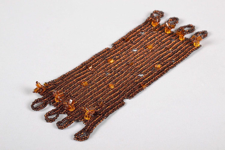 Beaded wrist bracelet photo 4