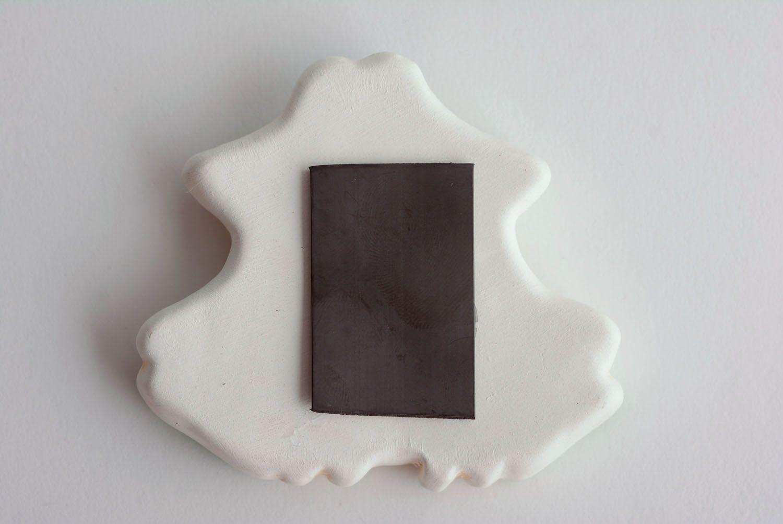 Ceramic fridge magnet Frog photo 4