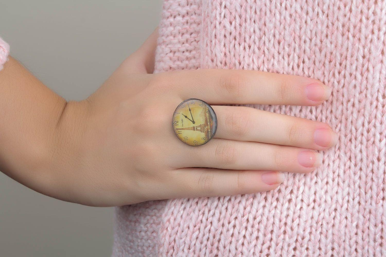 Кольцо ручной работы Париж фото 1