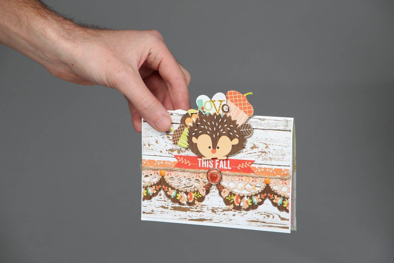 Unique designer postcard photo 4