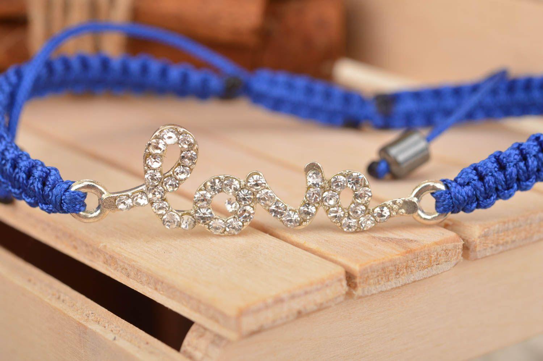Плетённые браслеты на руку