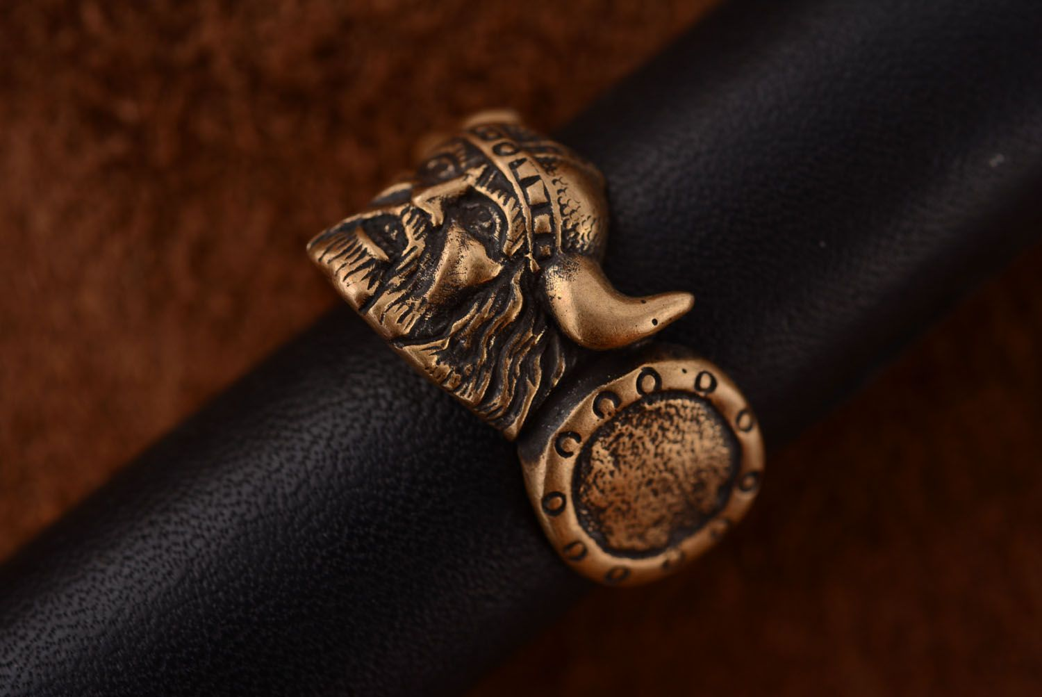 Bronze ring Viking photo 3