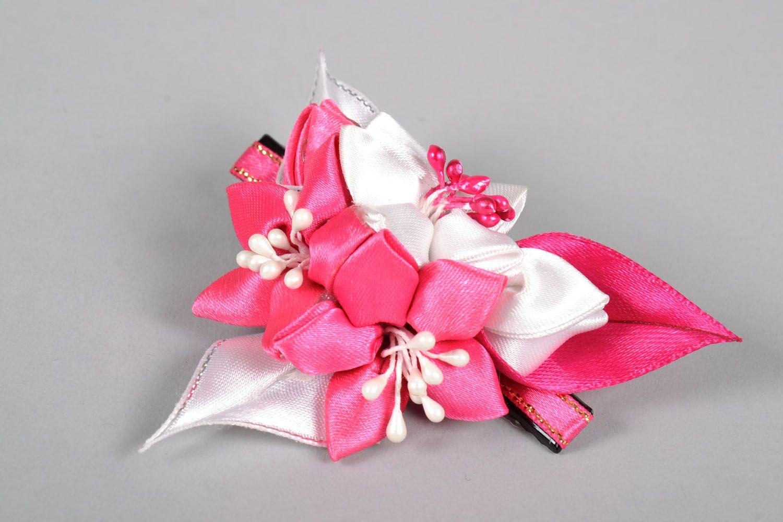 Satin hair clip Bouquet photo 3