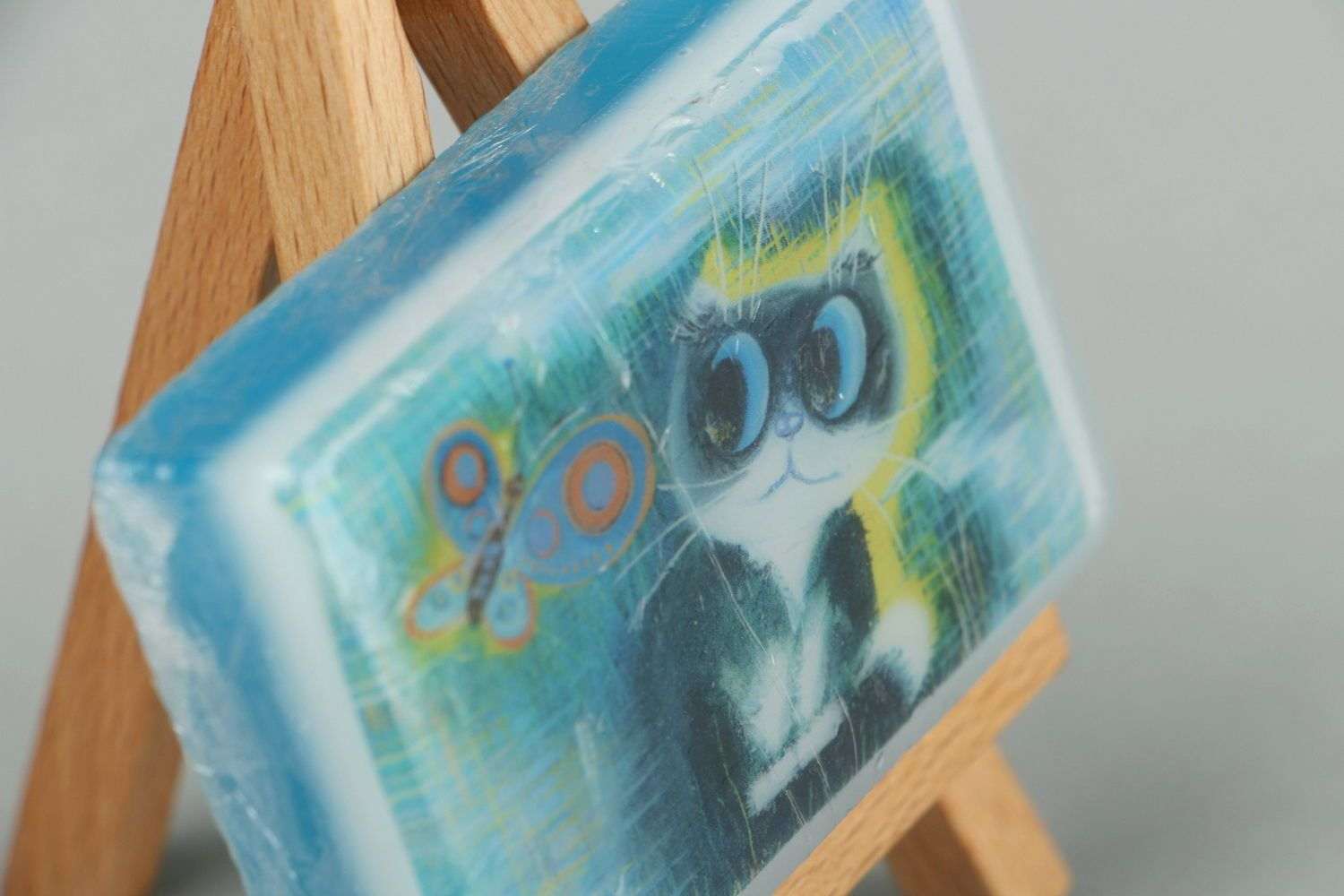 Handmade soap with the scent of oranges photo 4