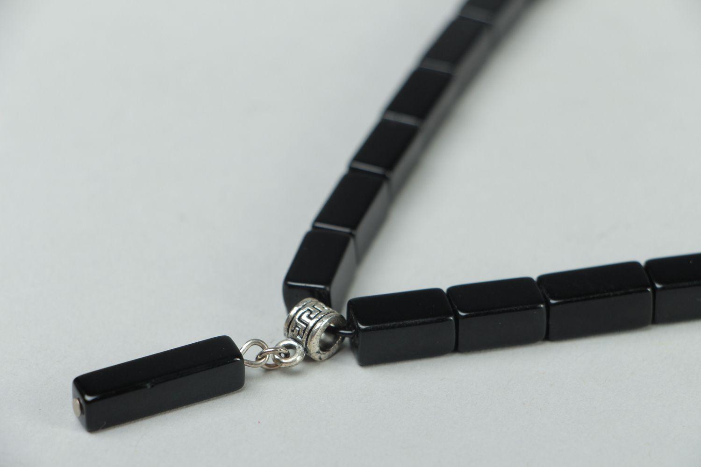 Handmade Czech glass chocker necklace Pallas photo 2