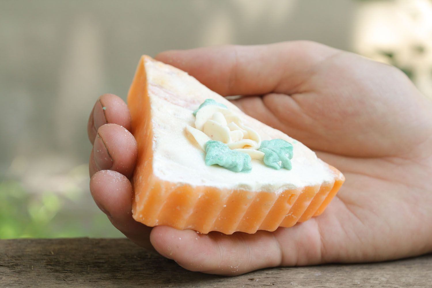 Soap with rose aroma photo 1