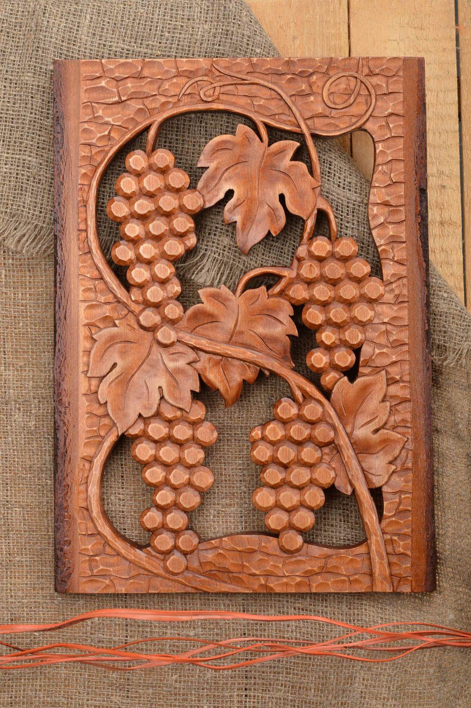Резное панно из дерева своими руками