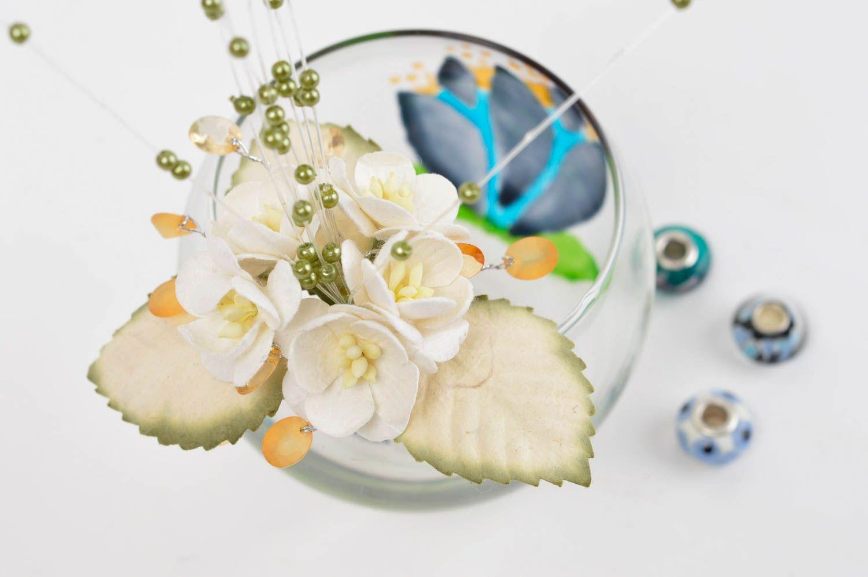 Handmade decorative flowers paper flowers paper craft interior composition photo 1