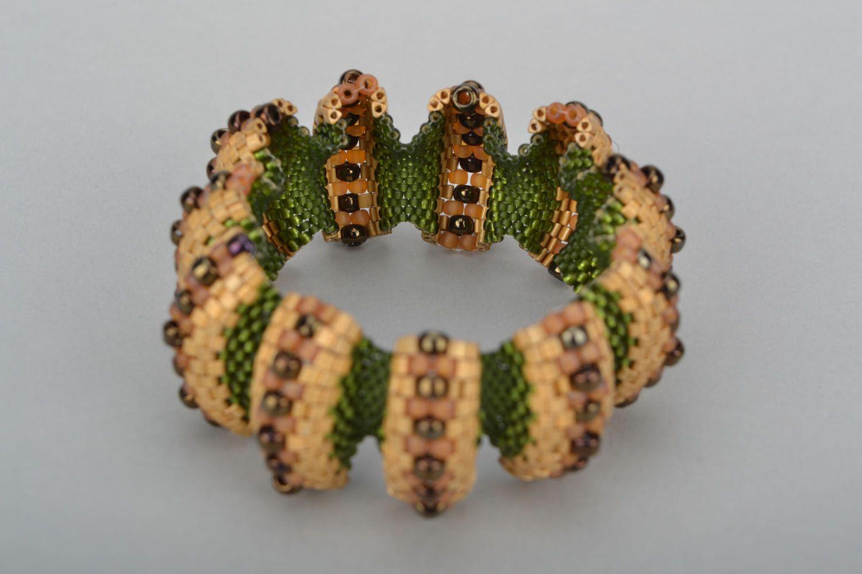 Relief beaded bracelet photo 5