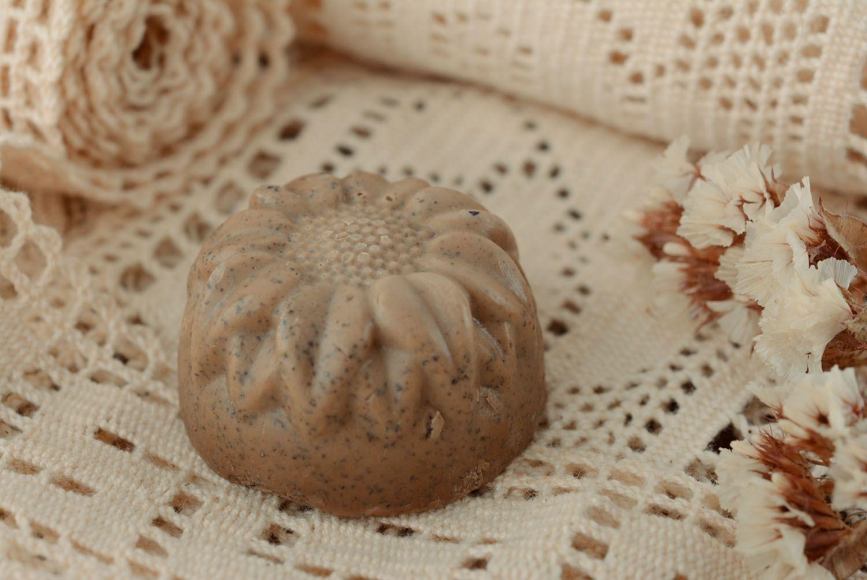 Handmade coffee soap photo 1