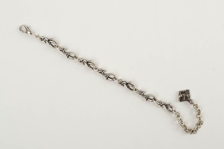 Thin handmade metal bracelet womens bracelet ideas handmade accessories photo 3