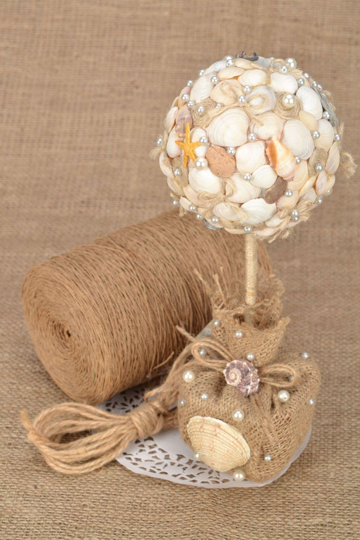 Tree of happiness with seashells photo 1