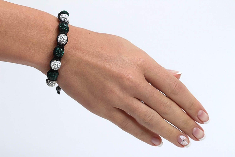 Handmade jewelry designer bracelet beaded bracelet fashion accessories gift idea photo 8