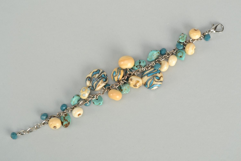 pulseras con dijes Pulsera de cristal de Murano - MADEheart.com