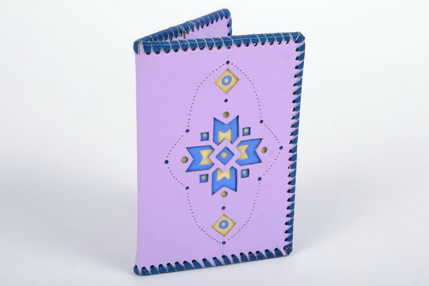 covers for documents Handmade leather passport cover - MADEheart.com