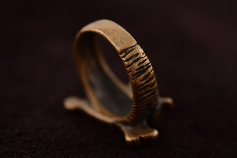 Bronze ring Cat photo 5